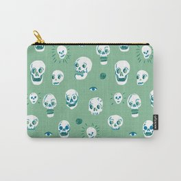 Pattern of Skulls Carry-All Pouch
