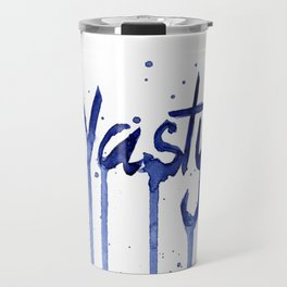 Nasty Woman Art Travel Mug