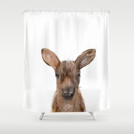 littlest moose Shower Curtain