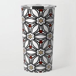 Ann pattern Travel Mug