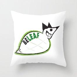 Beleaf Fox Throw Pillow