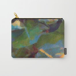 Dappled #botanical #nature #leaves #watercolor Carry-All Pouch