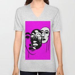 Love the Masks Unisex V-Neck