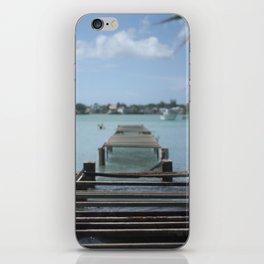 Turquoise Paradise iPhone Skin