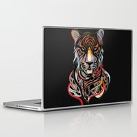 tiger Laptop & iPad Skins featuring Tiger by Felicia Cirstea