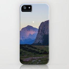 Glacier Moon iPhone Case