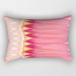 Lotus Petals Rectangular Pillow