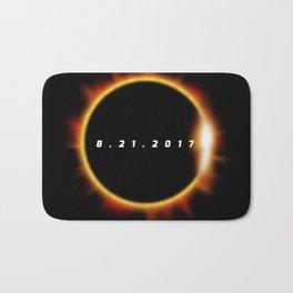 Total Solar Eclipse August 21 2017 Bath Mat