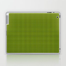 Large Slime Green and Black Hell Hounds Tooth Check Laptop & iPad Skin