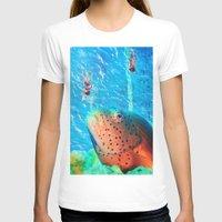 swim T-shirts featuring Swim by John Turck