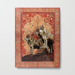 The Wolf Pack - Rudyard Kiplings Jungle Book Metal Print