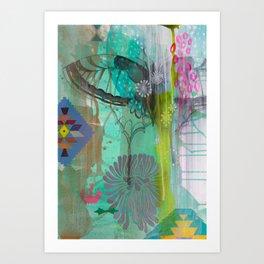 Exhale Earth Art Print