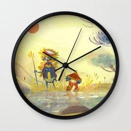 Kappa et l'enfant Wall Clock