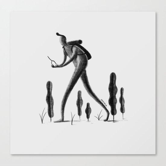 Explorador Canvas Print