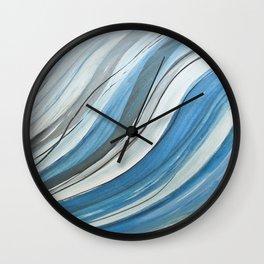 Ink & Charcoal #4 Wall Clock