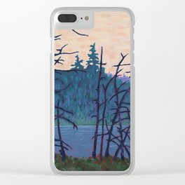 Algonquin Wetland, Algonquin Park Clear iPhone Case