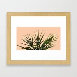 Palm Life - Pastel Framed Art Print