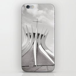 Brasilia's Cathedral | Niemeyer Architect iPhone Skin