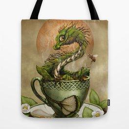 Tea Dragon print t-shirt art Tote Bag