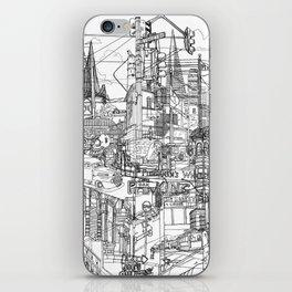 San Francisco! (B&W) iPhone Skin