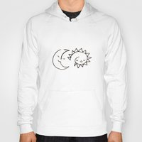 rubyetc Hoodies featuring moom and snuh by rubyetc