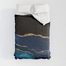 Beautiful Blue Pattern Design Comforters