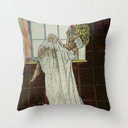 LA ESPERA 3 Throw Pillow