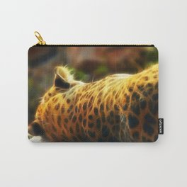 Cheetah fractal animal Carry-All Pouch