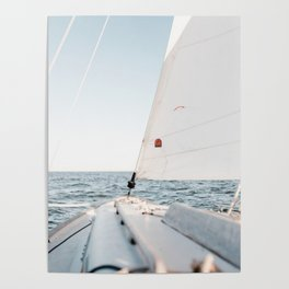 Sailboot by Andrew Neel Poster
