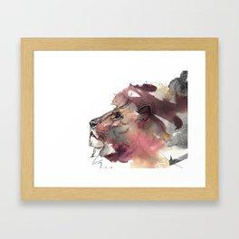 The Leo King Framed Art Print