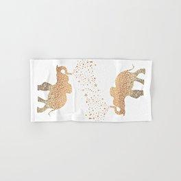 GOLD ELEPHANT Hand & Bath Towel