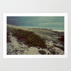 Nautica: Leaving the Dune Art Print