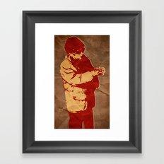 Dear Leader Framed Art Print