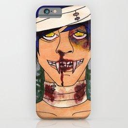 Vampire Guys Will Never Hurt You iPhone Case
