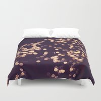 sparkle Duvet Covers featuring Sparkle by elle moss