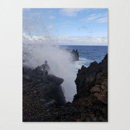 Ocean Explosion Canvas Print