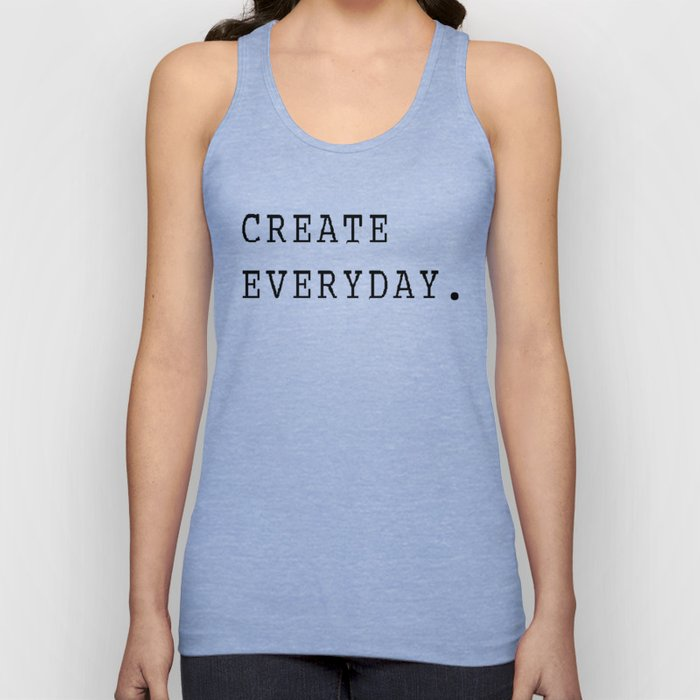 Create Everyday Unisex Tank Top