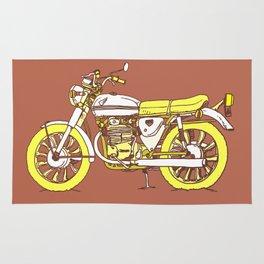 Vintage Motorcycle Gems III Rug