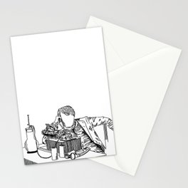 The Wizard of Menlo Park Stationery Cards