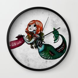 Creature of the sea Wall Clock