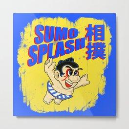 Sumo Splash! Metal Print