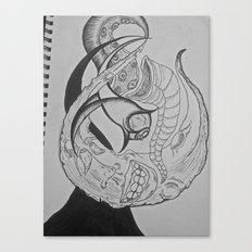 If the Moon were an Artist  Canvas Print