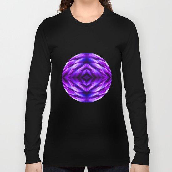 Cyber Monday | Purple Blue Night Long Sleeve T-shirt