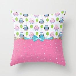 Owls Always Love You Throw Pillow