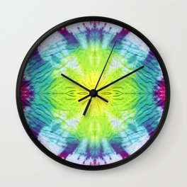 Dyeing to Create (part I) Wall Clock