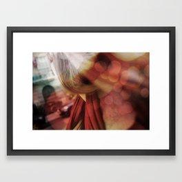 Lights I Framed Art Print