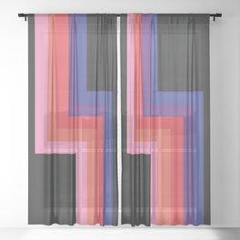 Classic Retro Haokah Sheer Curtain