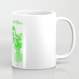 extra splash green grafitti design Coffee Mug