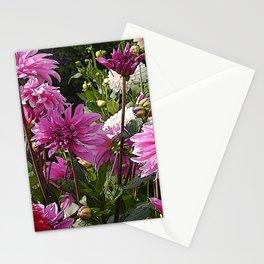 Summer Dahlias Stationery Cards