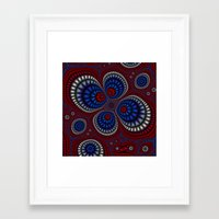 paisley Framed Art Prints featuring Paisley by Christy Leigh